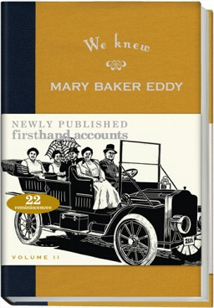 volume 2 we knew mary baker eddy Christian healer